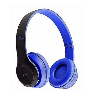 Bluetooth наушники MDR P47 (СИНИЕ), фото 2