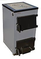 Котел на дровах ProTech ТТП 12 с D LUX, 12 кВт с варочной плитой