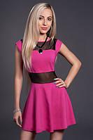 Стильное женское платье недорого, р46