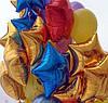 Фольгированный шар звездочка с гелием