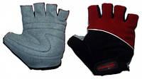 Перчатки без пальцев In Motion NC-1315-2010 черн-красн L