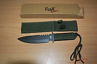 Туристический нож паракорд Fox Outdoor