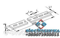 Полосы перфорированные К106, К107, K200, K202, К209 Полоса монтажная, Лента монтажная