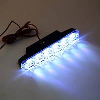 Дневные ходовые огни 6 LED, маленькие, ДХО