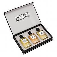 Набір парфумів унісекс Chanel Les Eaux De Chanel 3в1