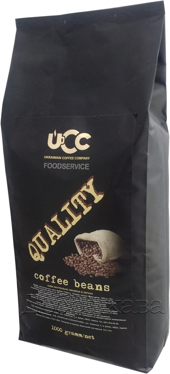 Кофе в зернах UCC Quality (30% Арабика) 1 кг.