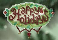Набор для вышивки Mill Hill  Happy Holidays