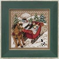 Набор для вышивки Through the Woods/ Через леса Mill Hill MH140305
