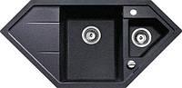 Кухонная мойка Teka Astral 80 Е-TG (88937) чорний металік