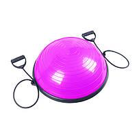 Балансировочная платформа Sport Shiny Bosu Ball 60 см Pink
