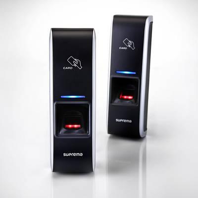 Биометрический считыватель BioEntry Plus со встроенным реле и модулем RF карт