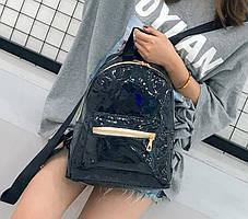 Голографический рюкзак с геометрическим дизайном, фото 2