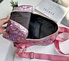 Голографический рюкзак с геометрическим дизайном, фото 4