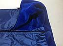 Комбинезон на меху 72 см разм 7 синий для собак, фото 6