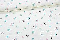 Ткань сатин Игрушки мелкие