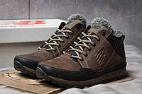 Зимние ботинки на меху New Balance Expensive, коричневые (30672),  [  41 (последняя пара)  ]
