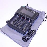 Xtar VC4 Универсальное USB-зарядное устройство для 4-х Li-ion/Ni-Mh аккумуляторов 10440-32650
