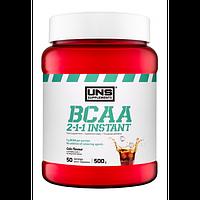 Амінокислоти UNS BCAA 2-1-1 Instant зі смаком коли (500 гр.)