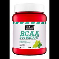 Амінокислоти UNS BCAA 2-1-1 Instant зі смаком лайму (500 гр.)