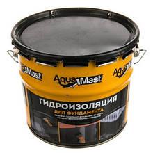 Мастика битумная AquaMast фундамент 10 кг