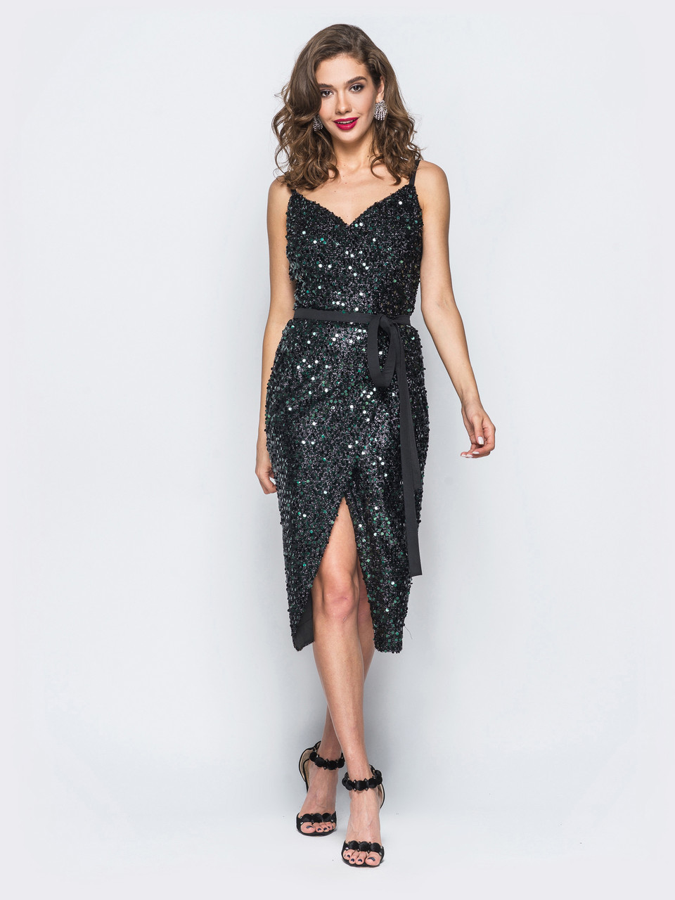 60c2b97af36fdd8 Нарядное платье с пайетками, красивые платья для женщин: продажа ...