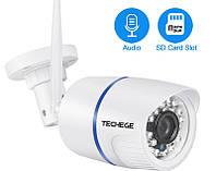 Techege 720P Wi-Fi IP Камера Onvif 1.0MP HD Внешняя, погодозащитная, инфракрасное Ночное Видение. Yoosee