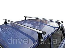Багажник на водостоки (алюміній) UNI AERO 140см.