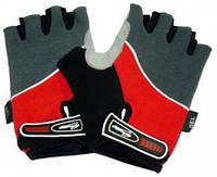 Перчатки без пальцев In Motion NC-1212-2010 красные L