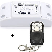 Sonoff RF Радио (433 МГц) + WIFI Беспроводной Выключатель Для Умного Дома c таймером ANDROID, iOS + пульт клонер на 4 кнопки