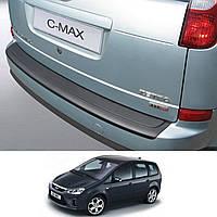 Ford C-Max 2007-2010 пластиковая накладка заднего бампера , фото 1