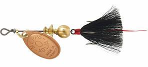 Блесна Mepps Aglia Mouche 0 Cuprum Black Fly
