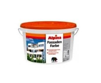 Краска дисперсионная ALPINA FASSADENFARBE фасадная,2,5л