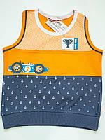 Майка-борцовка для мальчика рост 80-86 см, фото 1