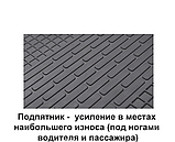 Автомобильные коврики на Fiat Talento (1+2) 2014- Stingray, фото 7