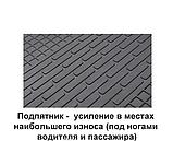Коврики автомобильные Fiat Talento (1+2) 2014- Комплект из 3-х ковриков Stingray, фото 7