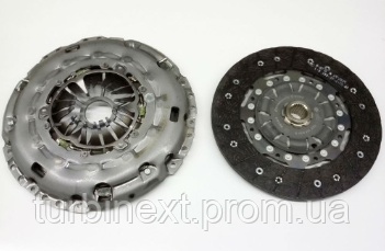 Комплект сцепления LuK 624 3178 09 VW T5 2.5TDI (128kw)