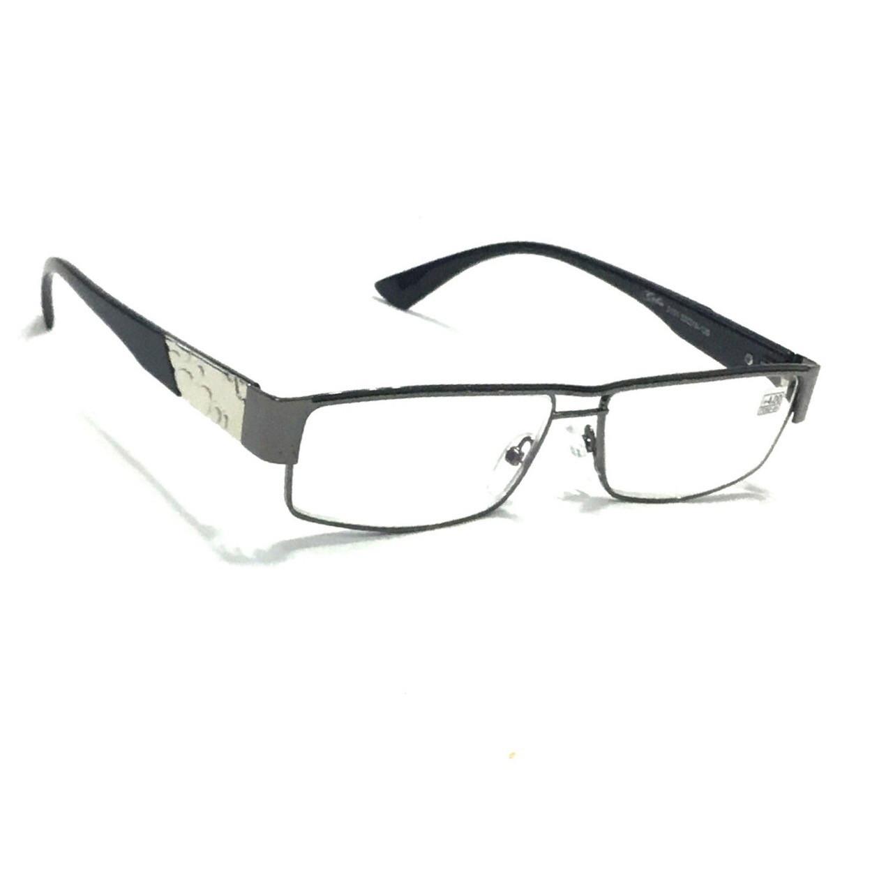 Мужские очки в металлической оправе