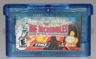 "Картридж на GBA ""THE INCREDIBLES"""
