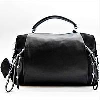 Превосходная женская сумка черного цвета ВВВ-200038, фото 1