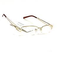 Полуоправные окуляри з білої лінзою