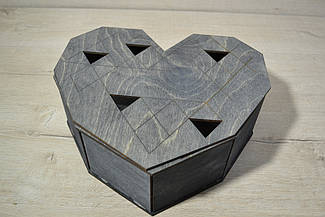 Дерев'яна коробка для пакування Подарункова коробка міні