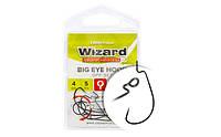 Крючок Wizard Big Eye Off-Set 1/0 4шт