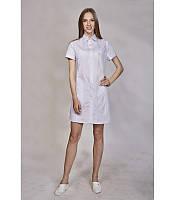 Женский медицинский халат -рубашка. Размеры 42 - 56, фото 1