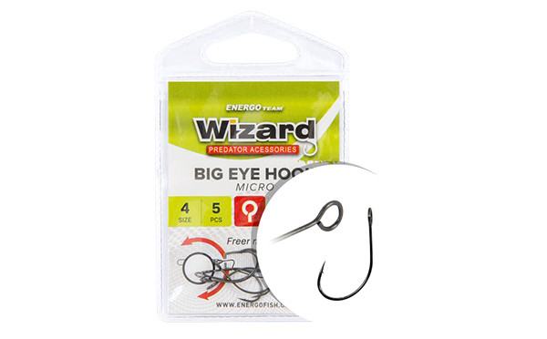 Крючок Wizard Big Eye Micro 2 5шт