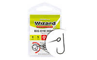Крючок Wizard Big Eye Twister 8 6шт