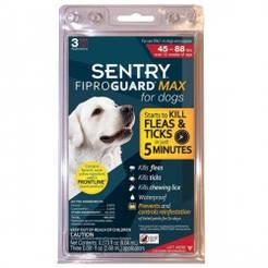 ФИПРОГАРД МАКС (FiproGuard MAX) капли от блох, клещей и вшей для собак 20-40 кг цена за 1 пипетку