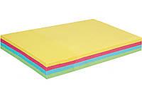 Блок для нотаток з клейким шаром 50*75мм, Economix 100 арк, пастель мікс