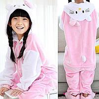 Детская пижама Кигуруми Hello Kitty 130 (на рост 128-138см) 0bbc8df04fb1d