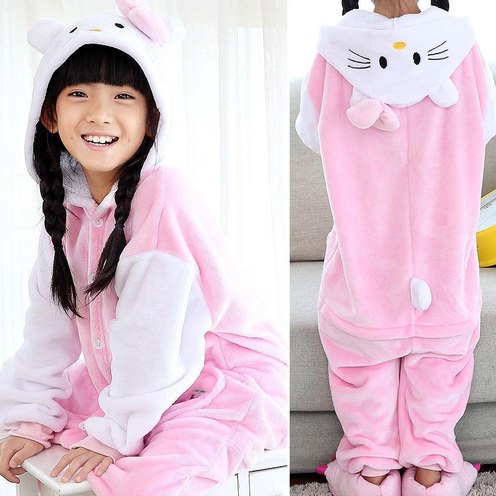 ☑ Детская пижама Кигуруми Hello Kitty 130 (на рост 128-138см ... 06baaecdb2c78
