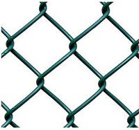Сетка рабица, сетка рабица в рулонах, ячейка 30x30 мм, 10000x1200 мм, толщина 1.6 мм